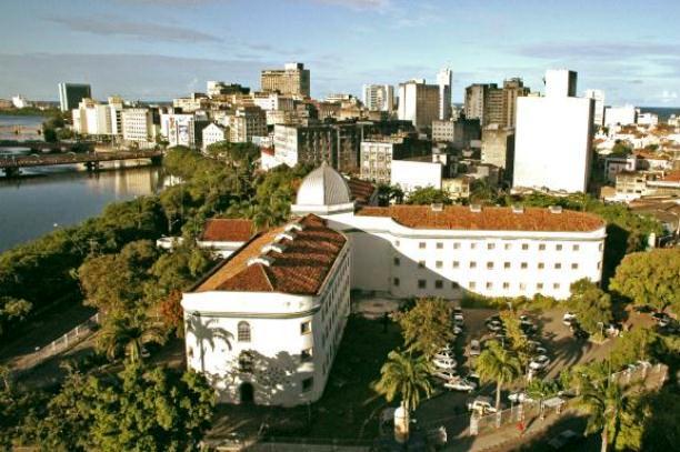 Vista aéria da Cultura em Recife