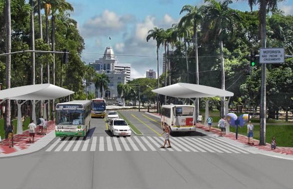 transporte coletivo em Recife