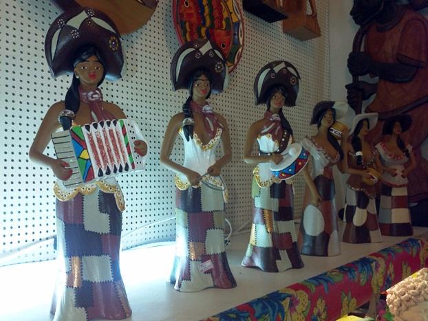 Artesanato da Casa da Cultura em Recife