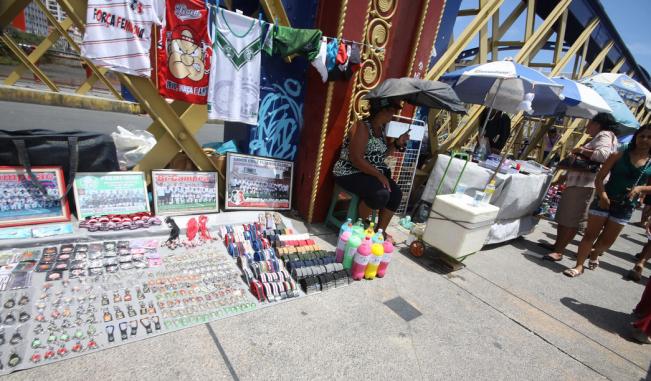 Vendedores ambulantes do Recife