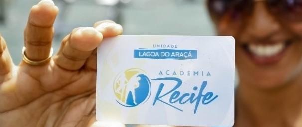 A primeira Academia Recife foi inaugurada na Lagoa do Araçá. - Capa