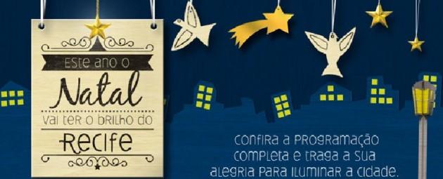 Confira Programação de Natal do Recife