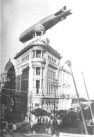 Delegacia doTrabalho 1937 - Passagem do Zepelin